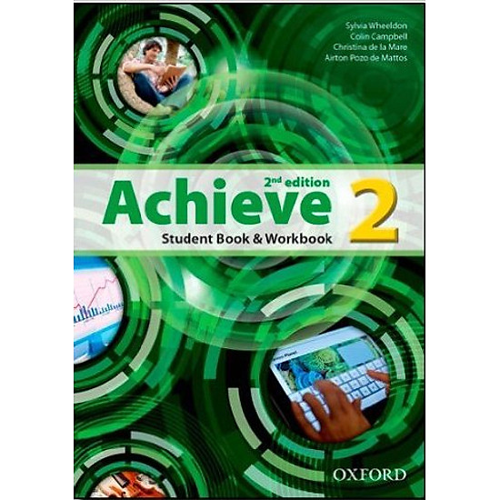 [Download Sách] Achieve (2 Ed.) 2: Student Book, Workbook - Paperback