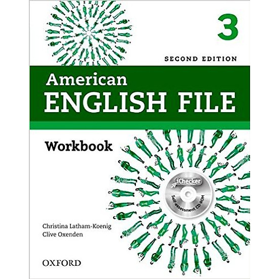 American English File (2 Ed.) 3: Workbook With iChecker – Paperback