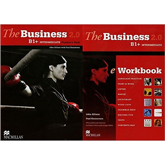 The Business 2.0 Inter B1+: Student Book With eWorkbook – Hardcover