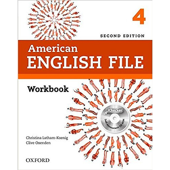 American English File (2 Ed.) 4: Workbook With IChecker – Paperback