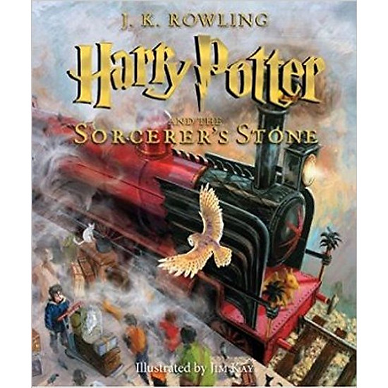 [Download Sách] Harry Potter And The Sorcerer's Stone: The Illustrated Edition (Harry Potter, Book 1)