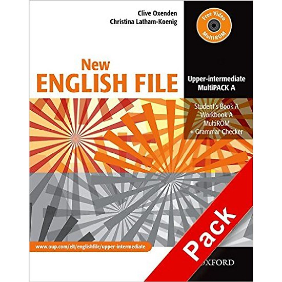 New English File Upper-Inter: MultiPACK A – Paperback