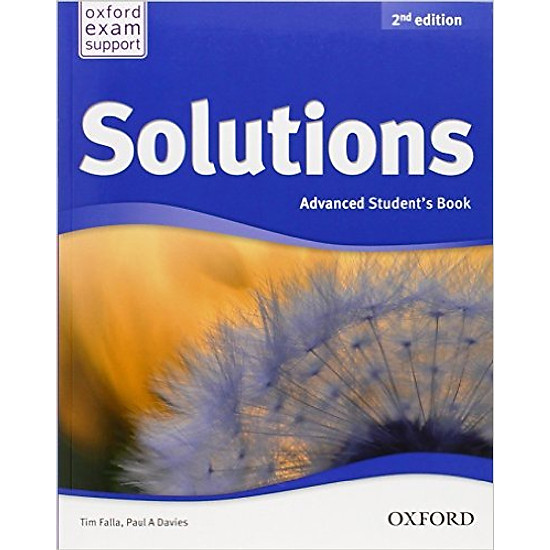 Solutions (2 Ed.) Adv : Student Book – Paperback