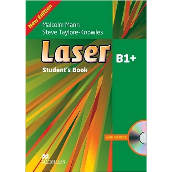 Laser (3 Ed.) B1+: Student Book With CD-ROM – Paperback
