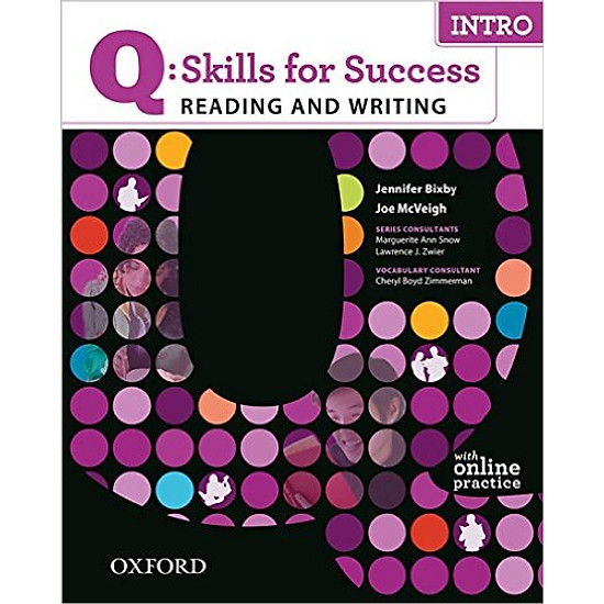 Q: Skills For Success Reading And Writing Intro: Student Book With Online Practice