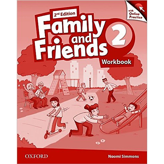 Family & Friends (2 Ed.) 2: Workbook & Online Practice Pack – Paperback