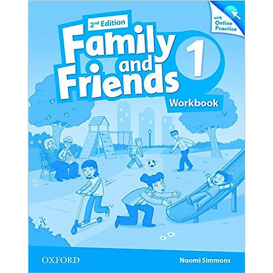 Family & Friends (2 Ed.) 1: Workbook & Online Practice Pack – Paperback