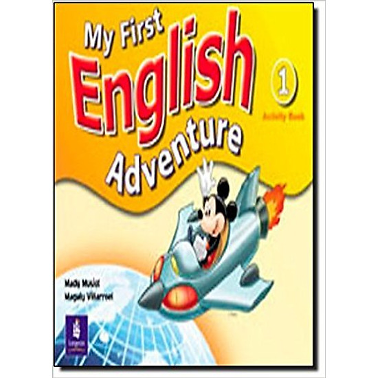 My First English Adventure 1: Activity Book  – Paperback