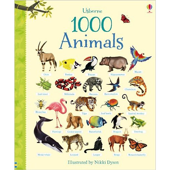 [Download sách] 1000 Animals