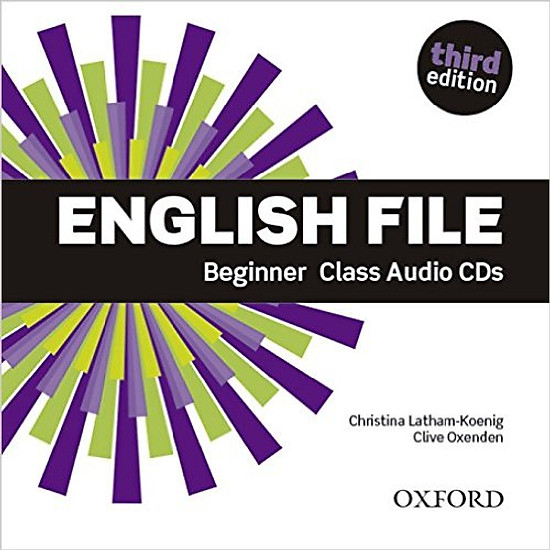 English File (3 Ed.) Beg: Class Audio CDs (4)
