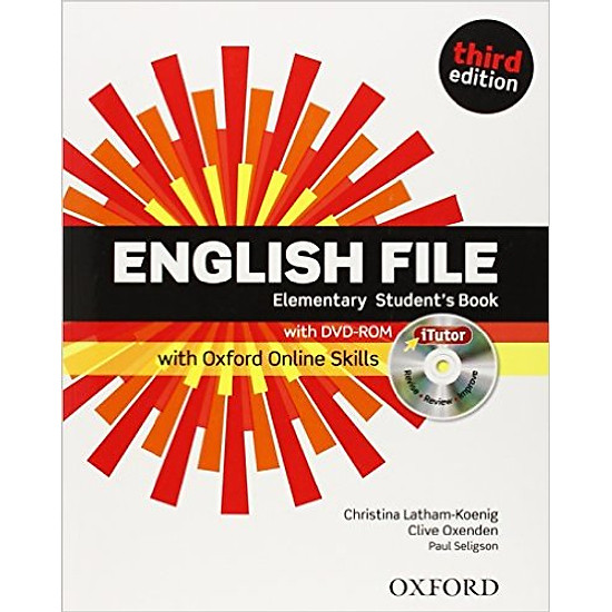 English File (3 Ed.) Ele: Student Book With ITutor With Online Skills Practice Pack – Paperback