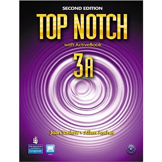 [Download sách] Top Notch (2 Ed.) 3: Split A (Student Book With Work Book) - Paperback
