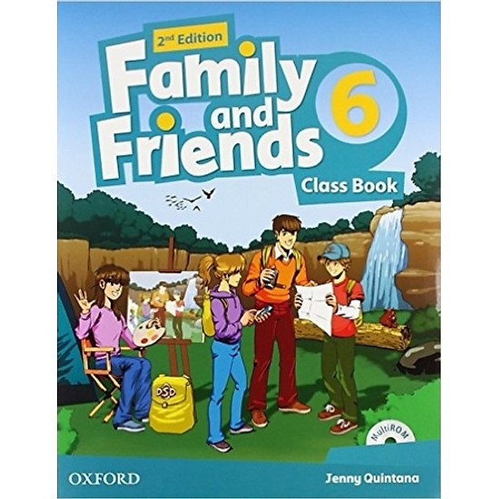 Family & Friends (2 Ed.) 6 Class Book Pack – Paperback
