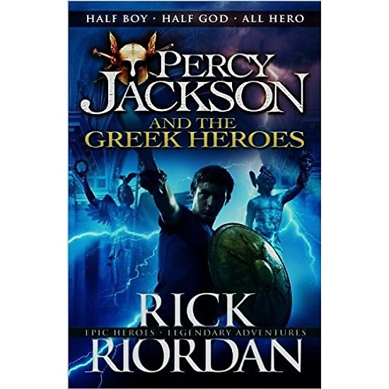 Percy Jackson And The Greek Heroes – Paperback