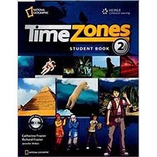 Time Zones 2: Student Book With MultiROM – Paperback