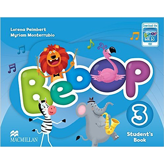 Bebop 3: Student Book With App – Paperback