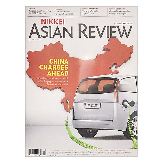 [Download sách] Nikkei Asian Review: China Charges A Head - 40