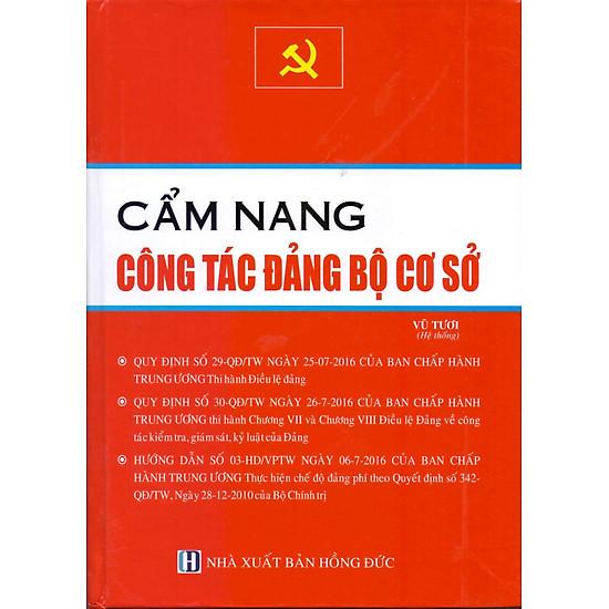 Cẩm Nang Công Tác Đảng Bộ Cơ Sở
