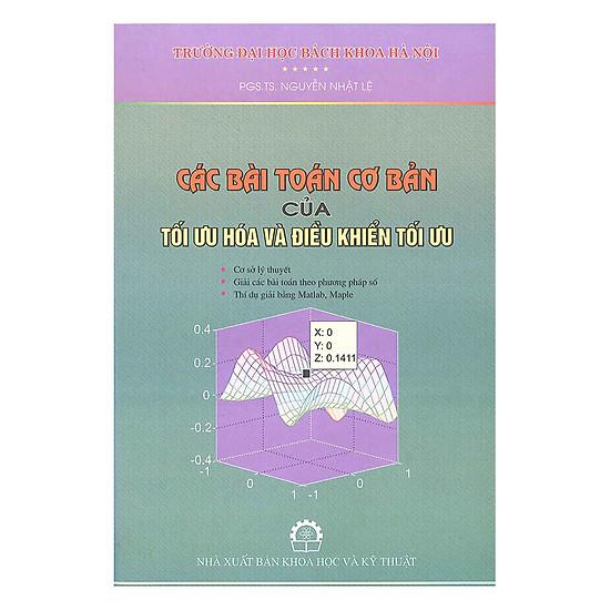 [Download Sách] Các Bài Toán Cơ Bản Của Tối Ưu Hóa Và Điều Khiển Tối Ưu