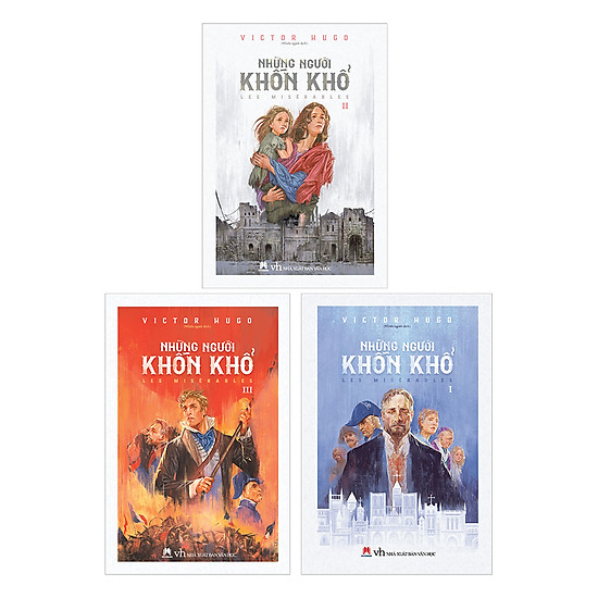 [Download Sách] Trọn Bộ: Những Người Khốn Khổ (3 cuốn)