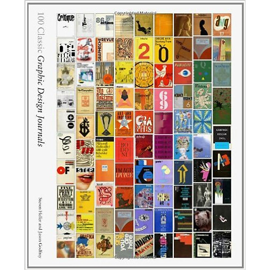 100 Classic Graphic Design Journals – Hardcover