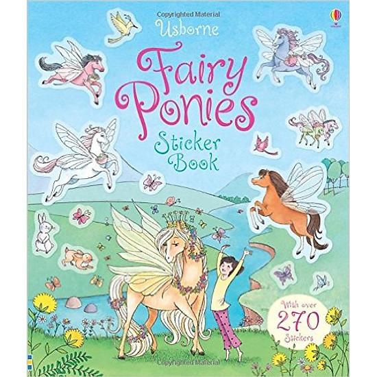 Fairy Ponies Sticker Book