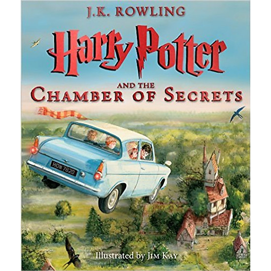 [Download Sách] Harry Potter And The Chamber Of Secrets: The Illustrated Edition (Harry Potter, Book 2)