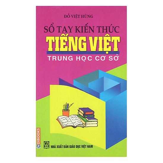Sổ Tay Kiến Thức Tiếng Việt THCS