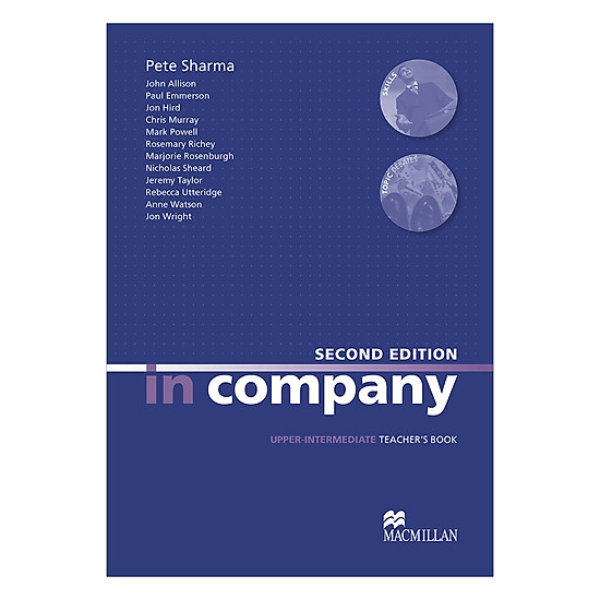 [Download Sách] In Company (2 Ed.) Upper-Inter: Teacher's Book