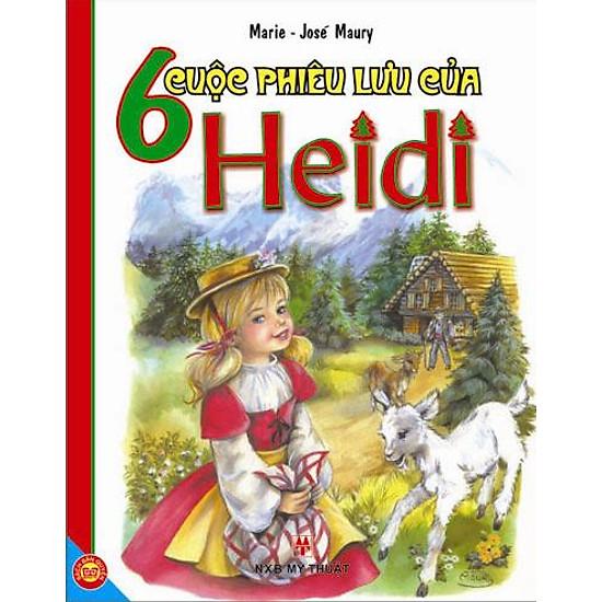 [Download Sách] 6 Cuộc Phiêu Lưu Của Heidi