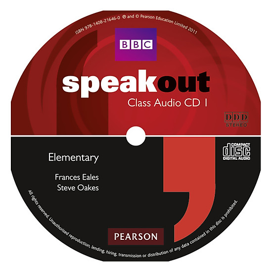 [Download Sách] Speakout Elementary - Class CD (x3)
