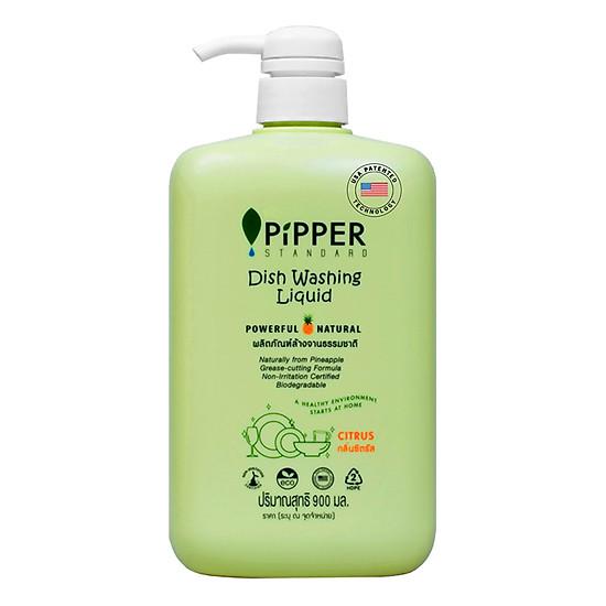 Nước Rửa Bình Sữa Và Đồ Chơi Trẻ Em Pipper Standard Hương Chanh (900ml...