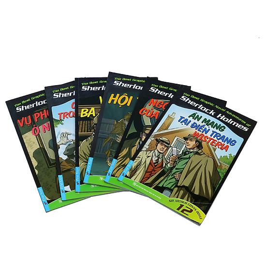 [Download Sách] Combo Những Cuộc Phiêu Lưu Kỳ Thú Của Sherlock Holmes (Tập 7 - 12)