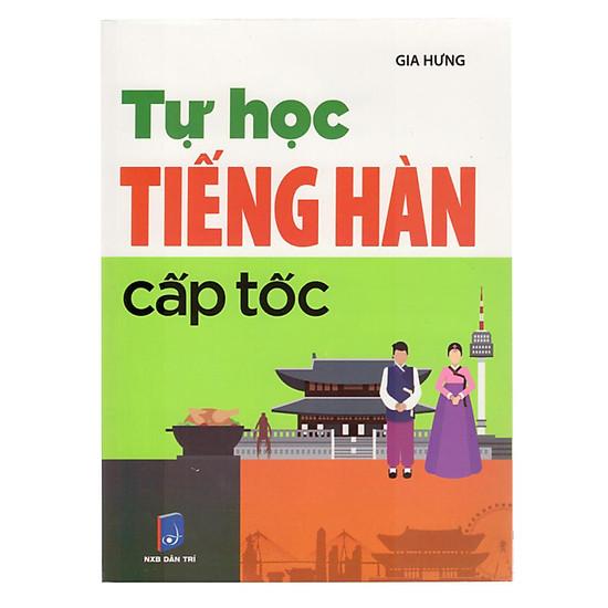 [Download sách] Tự Học Tiếng Hàn Cấp Tốc
