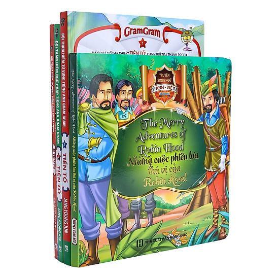 Combo 3 Tập (1 – 2 – 3) Gram Gram – Đội Thám Hiểm Từ Vựng Tiếng Anh (Tặng Kèm Sách Truyện Song Ngữ Anh – Việt)