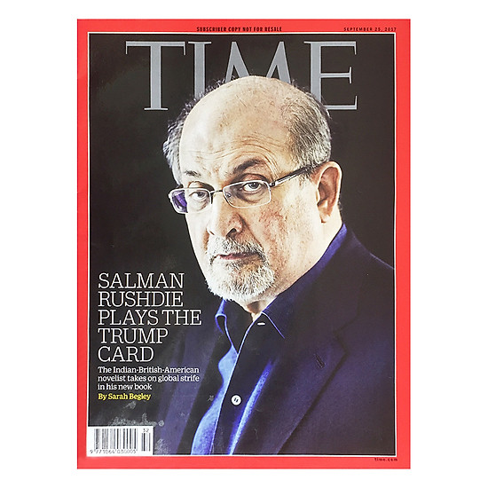 [Download sách] Time: Salman Rushdie Plays The Trump Card 32