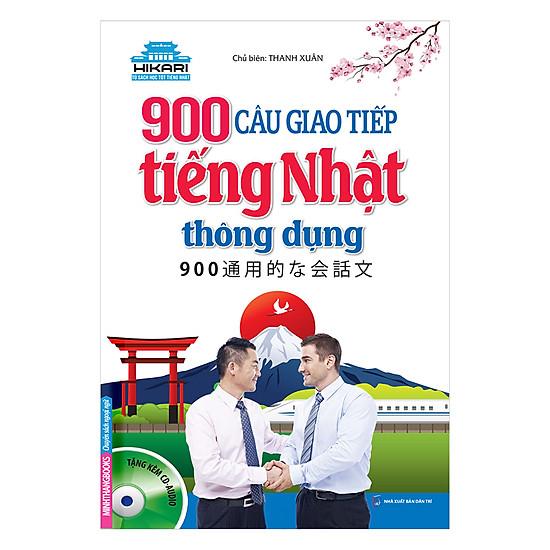 900 Câu Giao Tiếp Tiếng Nhật Thông Dụng (Kèm CD)
