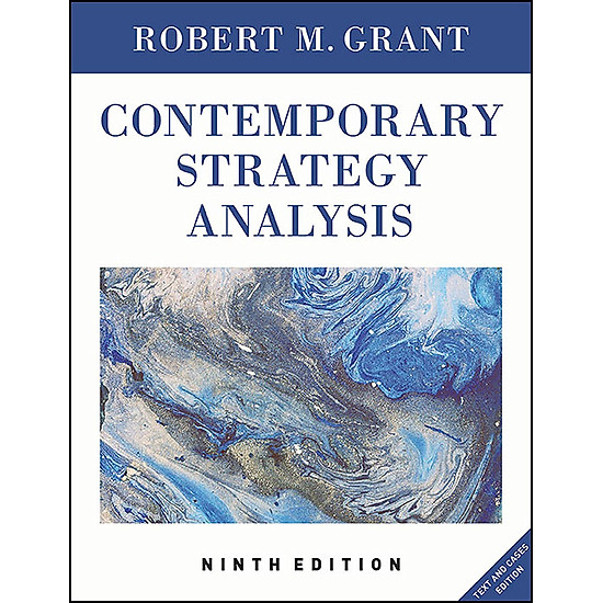 [Download Sách] Contemporary Strategy Analysis 9E Text Only
