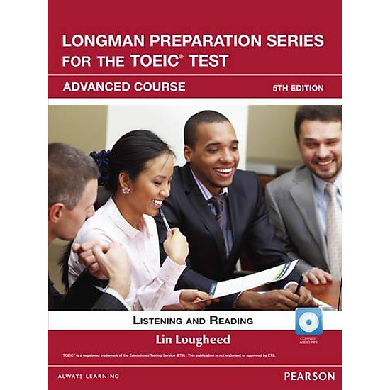 Longman Preparation TOEIC ( 5 Ed.) Adv : Book With CD-ROM, iTests With Audio (No Key)