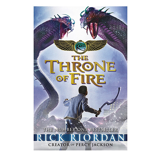 [Download sách] The Kane Chronicles Book 2 - The Throne Of Fire