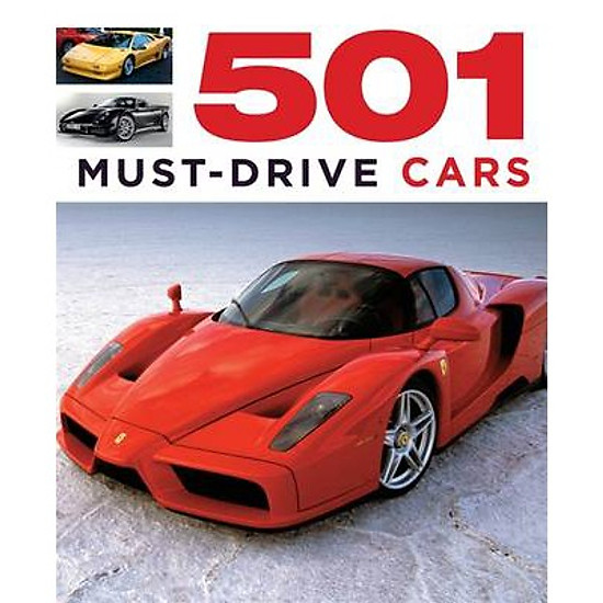 [Download Sách] 501 Must-Drive Cars