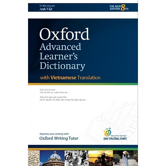 Oxford Advanced Learner's Dictionary (With Vietnamese Translation) - Hardback