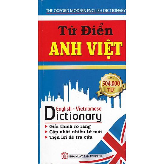 Từ Điển Anh Việt 304.000 Từ