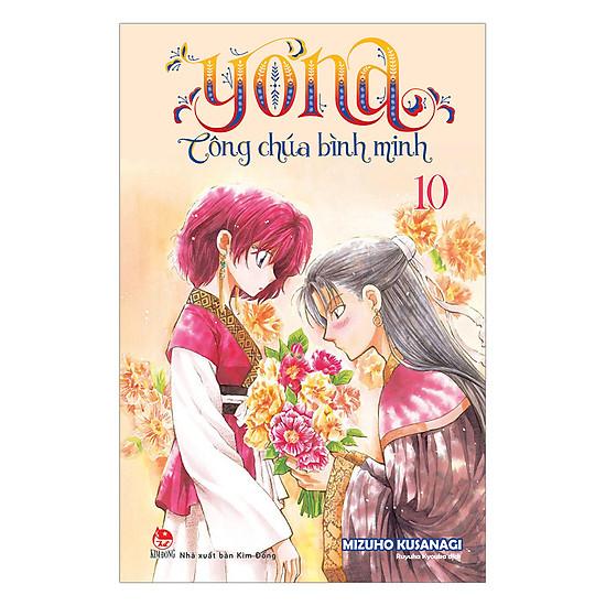 [Download sách] Yona - Công Chúa Bình Minh - Tập 10
