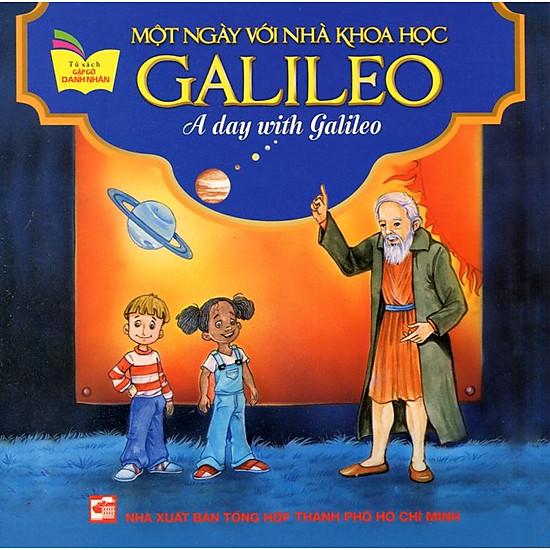 [Download Sách] Tủ Sách Gặp Gỡ Danh Nhân - A Day With Galileo (Song Ngữ)