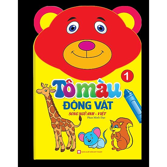 Tô Màu Động Vật – Song Ngữ Anh – Việt (Tập 1)