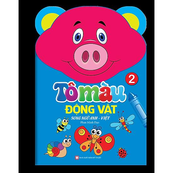 Tô Màu Động Vật – Song Ngữ Anh – Việt (Tập 2)