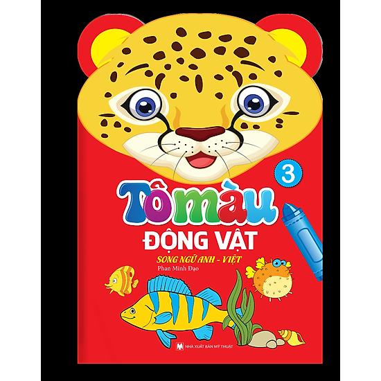 Tô Màu Động Vật – Song Ngữ Anh – Việt (Tập 3)