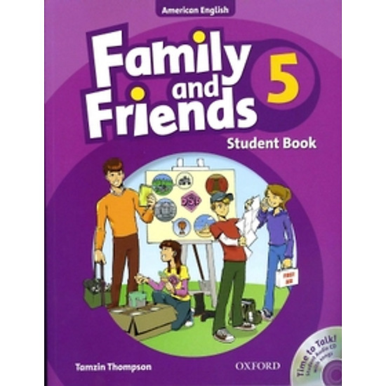 [Download sách] Family And Friends American (Edition 5): Student Book & Student CD Pack