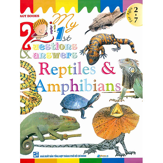 My First Questions & Answers – Reptiles & Amphibians